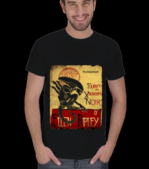 Le Xenomorph noirErkek Ti��rt
