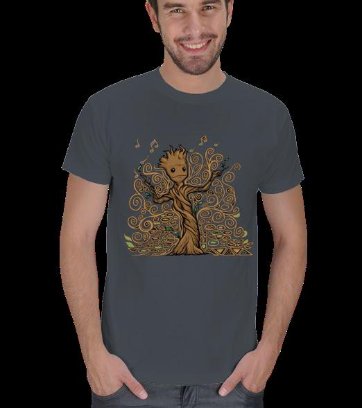 Guardians of the Galaxy- Groot Erkek Ti��rt