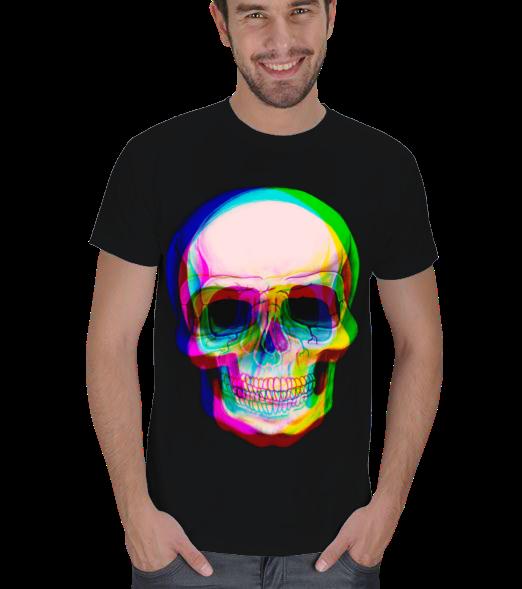 3D SkullErkek Ti��rt